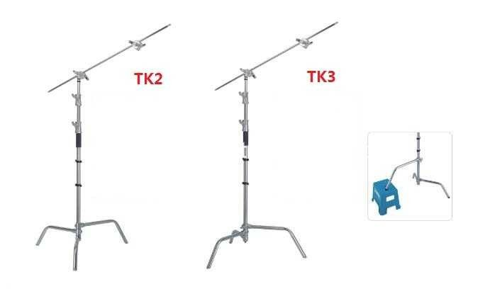 C - Stands Magic Arm Large Light Stand Photography Tripod Professional Stainless Steel