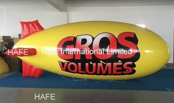 5 M 8 M Outdoor Floating Advertising Balloon Waterproof Long Durability Logo Outside