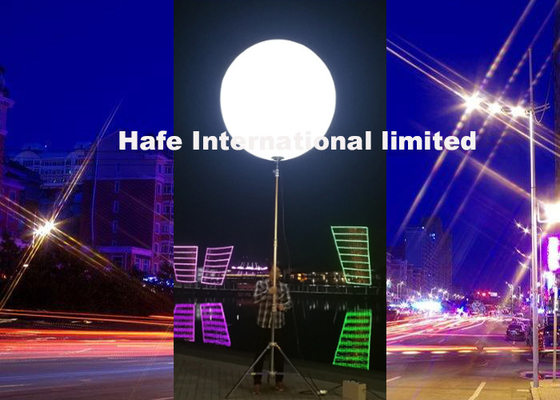 China Maximaler Ballon-aufblasbares Licht Voltage100~240v 48000lm 1.6m führte Lichter für Inflatables usine