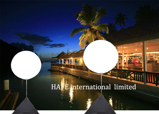 600 W LED White Illuminate Inflatable Lighting Decoration Hotel Reception / Wedding Use