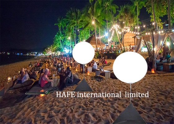 Seaside Party Illuminate Lights Inflatable Lighting Decoration For Seaside Landscape